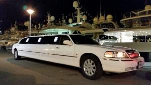 Limousine avec chauffeur mariage